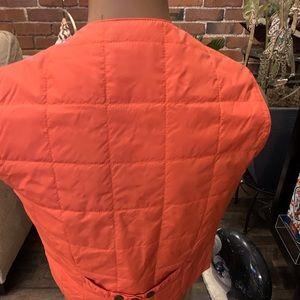 Jackets & Coats - Scott James Nylon Vest with Wood Buttons
